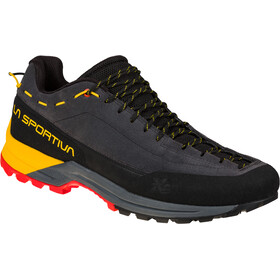 La Sportiva TX Guide Leather Shoes Men, carbon/yellow